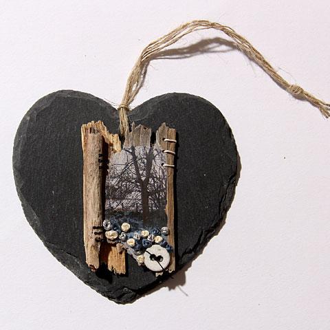 Slate Heart from Ali Ferguson workshop