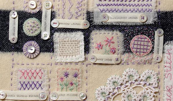 Ali Ferguson Hand Stitch Sampler