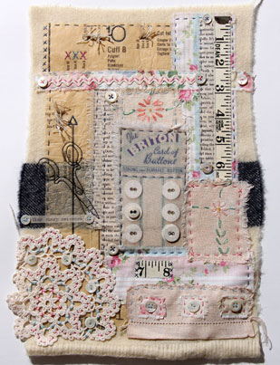 Ali Ferguson Stitched Stories workshop piece
