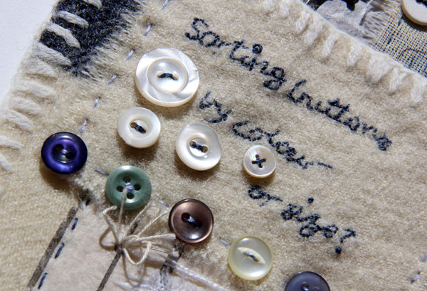 Ali Ferguson Stitched Stories workshop piece