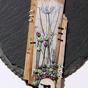 work by Ali Ferguson - Frames and Hearts workshop