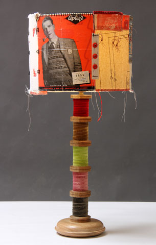 Ali Ferguson Workshop Patchwork Lampshades