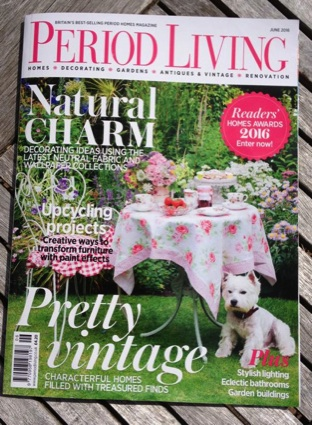Period Living magazine cover
