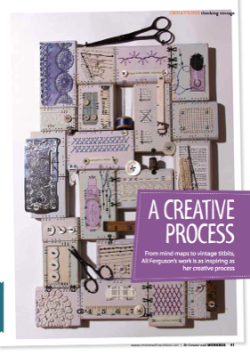 Be Creative with Workbox magazine page