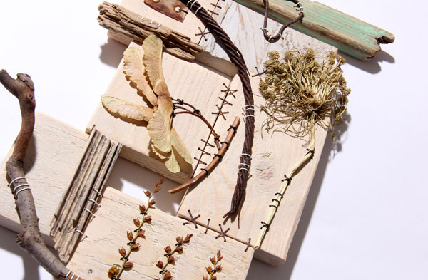 work from Ali Ferguson Natural Collections Textile Workshop