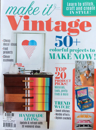 Make it Vintage magazine cover