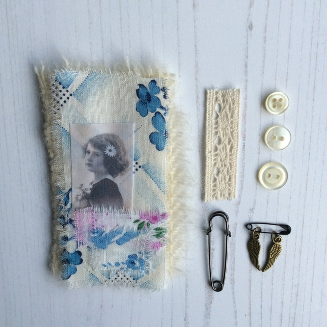 Vintage Style Brooch Kit 1