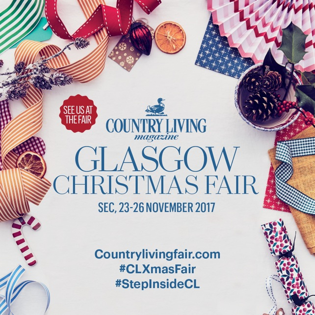 Country Living Christmas Fair Glasgow