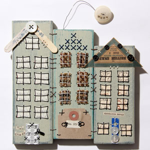 Patchwood Tenements workshop piece by Ali Ferguson