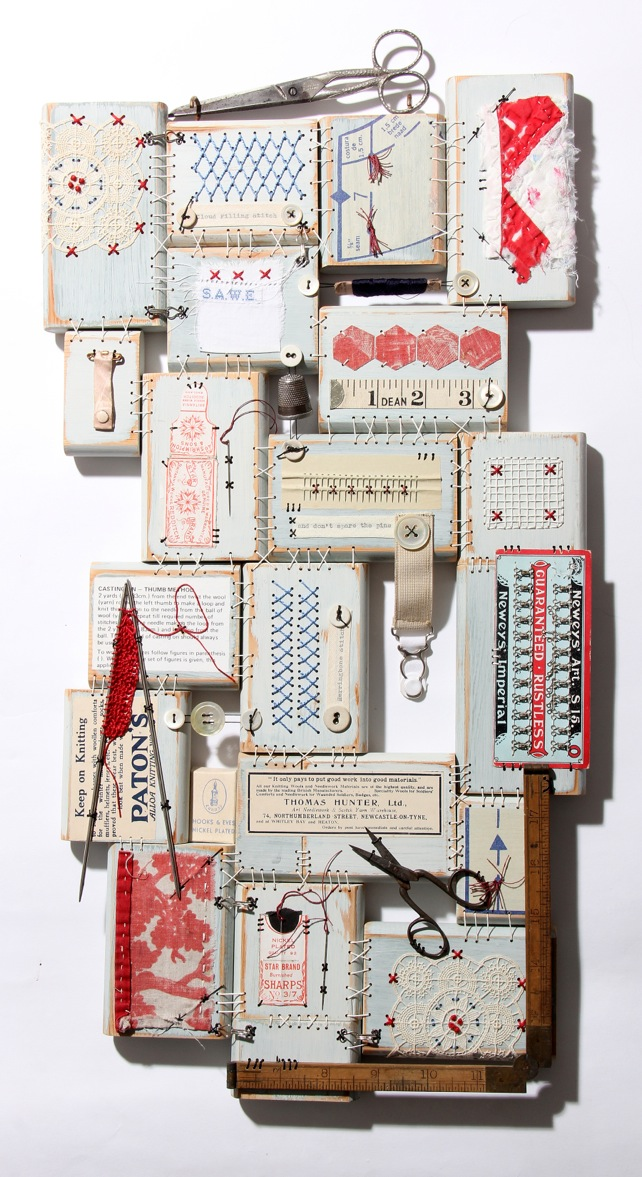 Textile art by Al Ferguson
