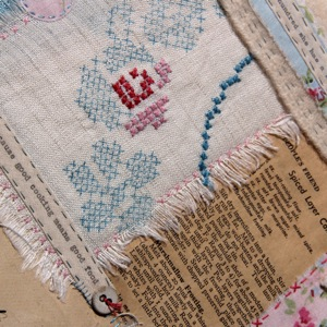 Ali Ferguson Stitching Stories workshop piece