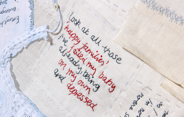 Stitched stories of postnatal depression