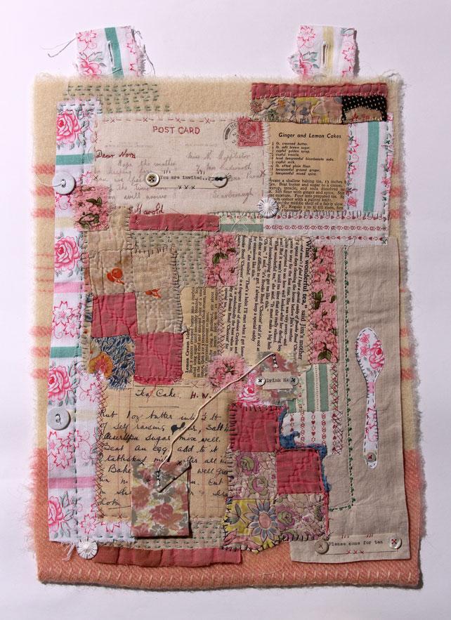 Ali Ferguson Textile Collage