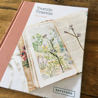 Textile Travels Book by Anne Kelly